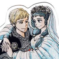「マロニエ王国の七人の騎士」アクリルスタンド2種 発売決定!